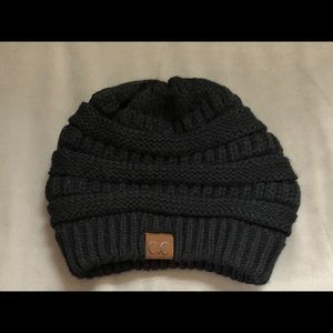 Accessories - New CC Beanie Hat Black